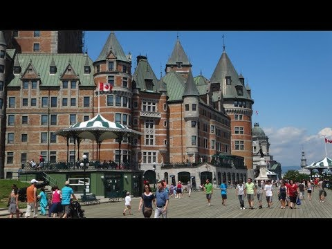 Down the Streets of QUEBEC / Nick in CANADA /  Movie  2 of 3