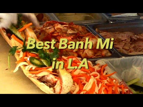 Sandwich Express Banh Mi, Los Angeles (HD)