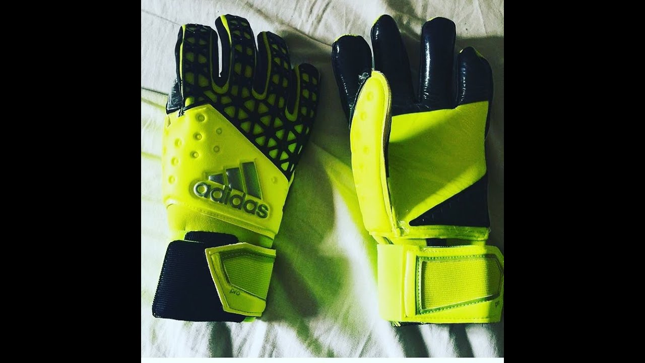 Nike Goalkeeper Gloves Youtube: Goalkeeper Gloves Unboxing: Adidas Ace Zones Pro