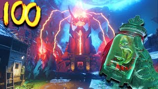 'REVELATIONS'  ROUND 100 CHALLENGE! (Call Of Duty Black Ops 3 Zombies)