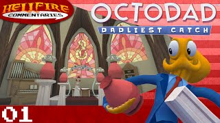 Octodad: Dadliest Catch playthrough [Part 1: Everyone Suspects The Thing]