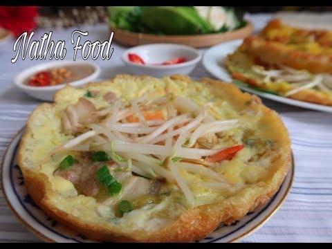 Cách làm Bánh xèo giòn Đà Nẵng, kèm nước chấm béo thơm đậm đà || Vietnamese crepes|| Natha Food