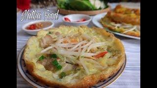 Cách làm Bánh xèo giòn Đà Nẵng, kèm nước chấm béo thơm đậm đà    Vietnamese crepes   Natha Food
