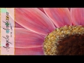 Gerbera Daisy Acrylic Painting Tutorial for Beginners (Part 1)