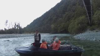 Hollyford jet boating New Zealand