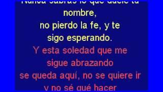 """Abel Pintos """"El mar"""" KARAOKE CON LETRA"""