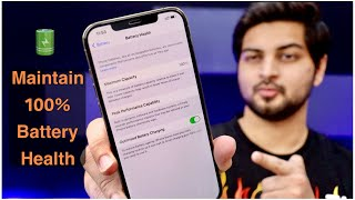 How to maintain 100% Battery Health | iPhone Battery Draining | fast charging battery | Mohit Balani