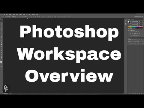 Photoshop Web Design Tutorial Series - Workspace Overview