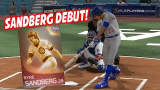 99 Immortal Ryne Sandberg Making an Impact in His Debut! - MLB The Show 18 Diamond Dynasty Gameplay