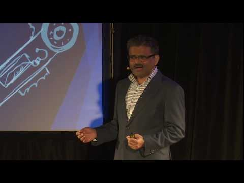 The missing piece in democratising AI is You | Samir Sinha | TEDxSPJainSydney