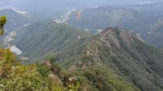 진안군 구봉산 등산로 자재운반 화물공수