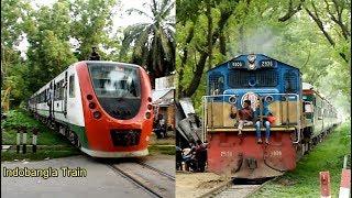 Demu Train vs Tista Express Train Through Passing Agriculture University Station, Mymensingh