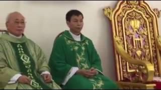 Lời giới thiệu của Đức cha Ga Vũ Tất trong Thánh lễ nhận xứ của Cha Inhaxio Triều