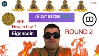 Let's Try to buy Monetize Coin - ICO Round 2 Start Now