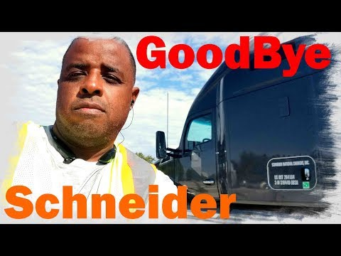 Turning in my Schneider IC Lease EARLY