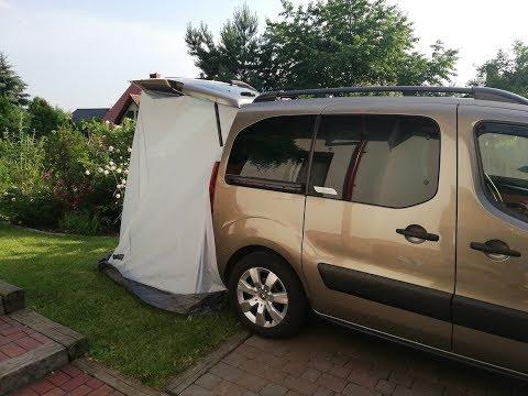 How To Transform MPV To Camper In 60 Minutes - Berlingo Camper Van
