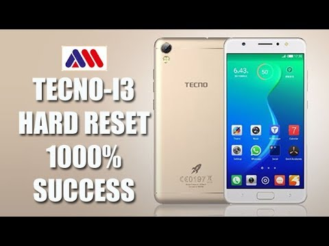 Tecno i3 hard reset & pattern unlock 100% success||by maxinfotech & mobile