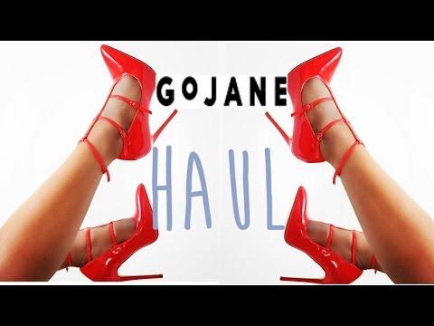 ➣HUGE SHOE HAUL 👠 GoJane Shoe Haul + Bloopers