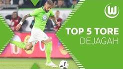Die Top 5 Tore von Ashkan Dejagah im Trikot des VfL Wolfsburg