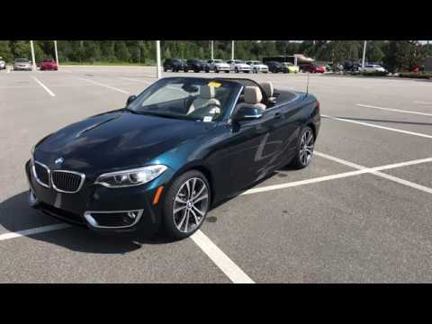 BMW Pre Owned >> 2016 BMW 228I CONVERTIBLE PRE-OWNED / WALKAROUND / BMW OF OCALA - YouTube