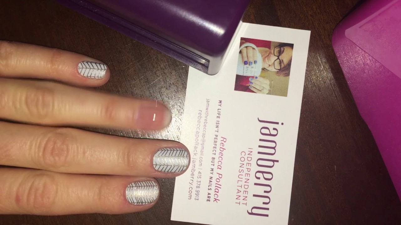 How to cap your tips (Jamberry TruShine) - YouTube