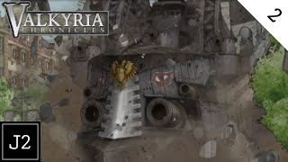 Valkyria Chronicles On PC Campaign Gameplay - Mill
