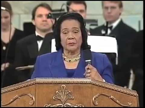 The Late Coretta Scott King Dedication of Bishop T.D Jakes the Potters House in 2000