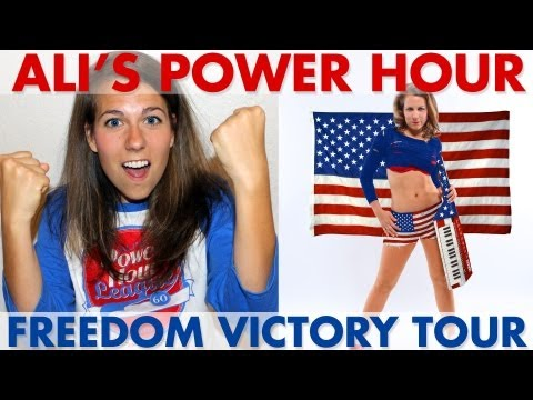 Freedom Victory Tour - Ali's Power Hour Drinking Game