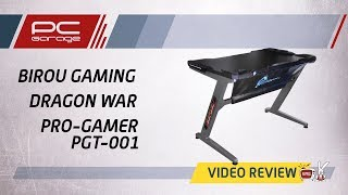 PC Garage – Video Review Birou Gaming Dragon War Pro-Gamer PGT-001