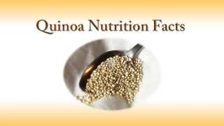 Quinoa Nutrition Facts | For Health & Weight Loss