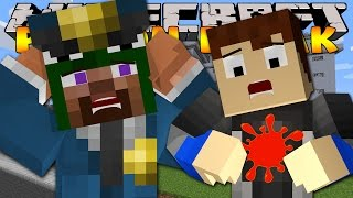 Minecraft - PRISON BREAK - SCUBA STEVE GETS SHOT!