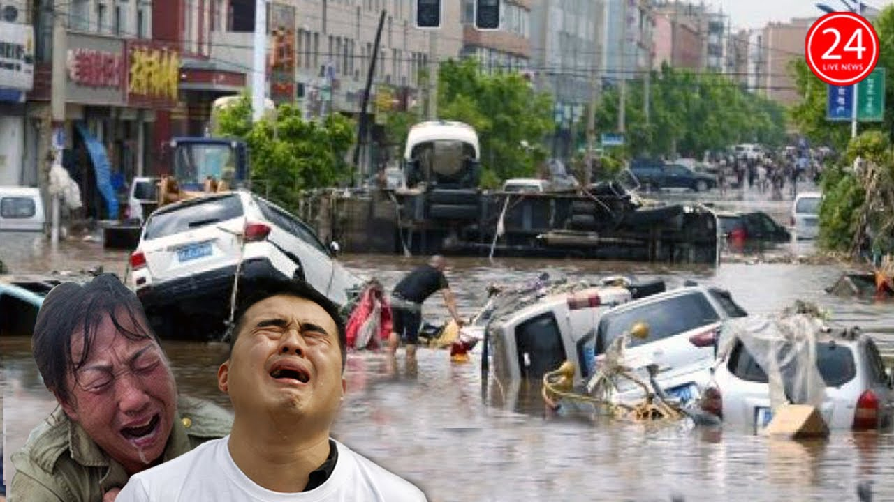 Lũ Lụt Trung Quốc 22 8 Lũ Chồng Lũ Vui Dập Tq Khiến đường Biến Thanh Song đập Tam Hiệp Nguy To Youtube
