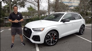 Is the 2021 Audi SQ5 the best compact luxury sport SUV to BUY?