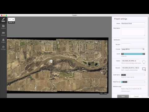 Creating Offline Maps from Imagery with TileMill