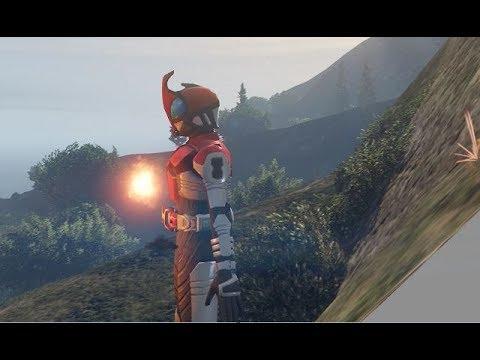GTA 5 Kamen rider Decade bị điều khiển bởi Nam tộc chúa và tấn công đồng đội (ý tưởng Fan)|GHTG