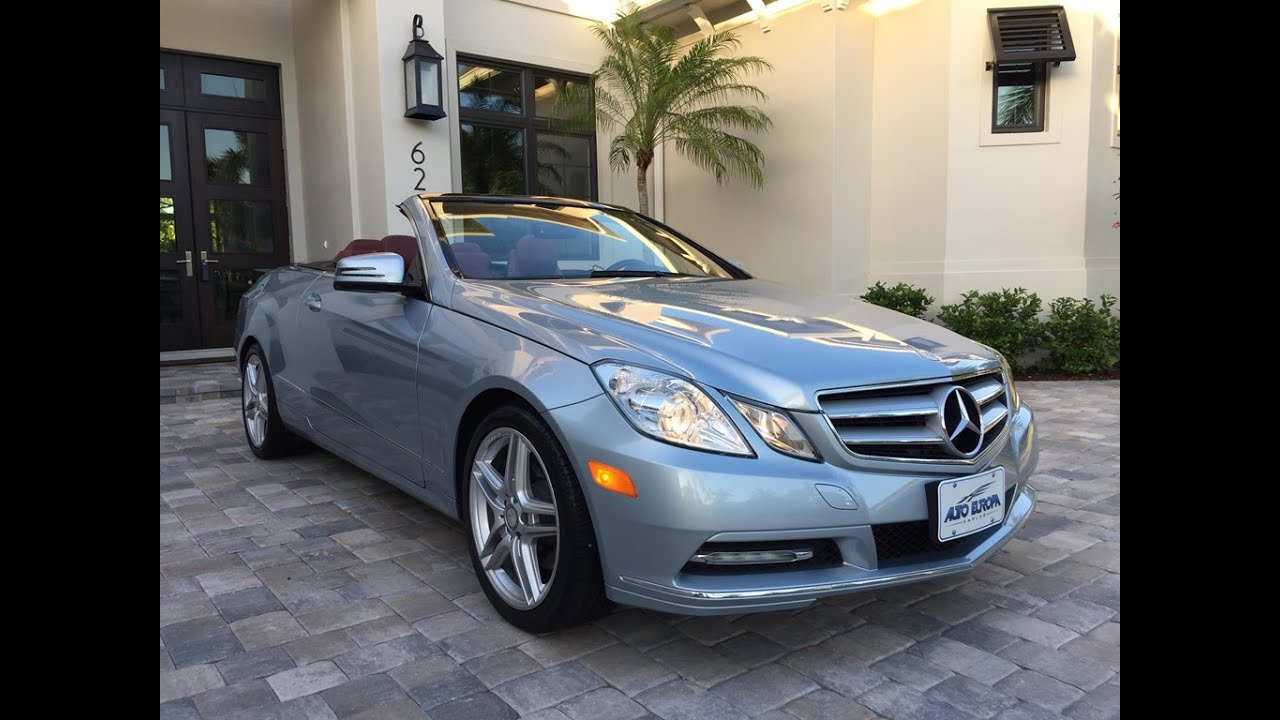 Sold 2013 mercedes benz e350 cabriolet for sale by auto for Mercedes benz e350 cabriolet