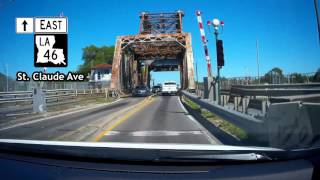 Road Trip #012 - St  Claude Avenue into the Lower Ninth Ward, New Orleans