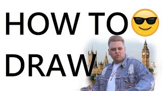 HOW TO DRAW England is my CITY 😍
