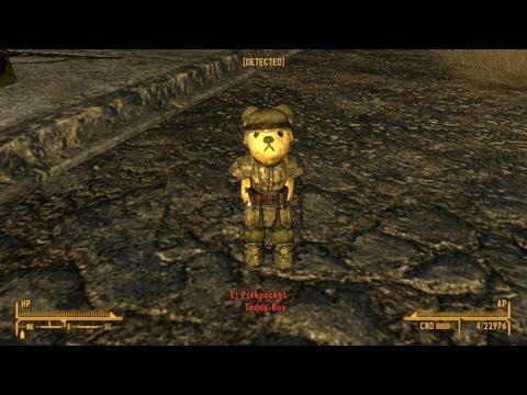 Rusty the Bear--Companion Mod in Fallout New Vegas |