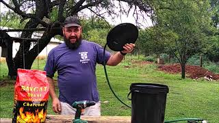 Cor builds a cheap DIY charcoal filter that anybody can do at home.