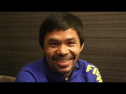 PACQUIAO REACTS TO MAIDANA CALLING HIM OUT 'CAN YOU STILL MAKE 147LBS ?'