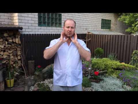 Зарядка для шеи при синдроме позвоночной артерии