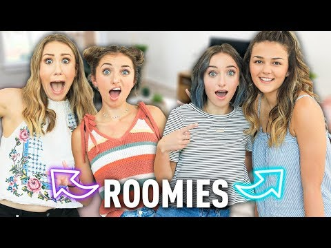 Meet Our New COLLEGE Roommates!