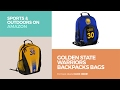 Golden State Warriors Backpacks Bags Sports Outdoors On Amazon