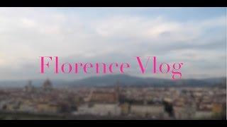 Florence, Italy Travel Vlog Thumbnail