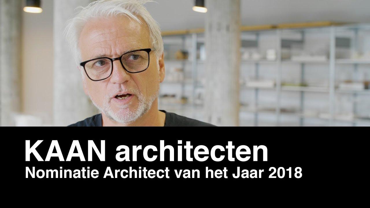 Architectenweb – Architect van het Jaar verkiezing 2018 – KAAN architecten