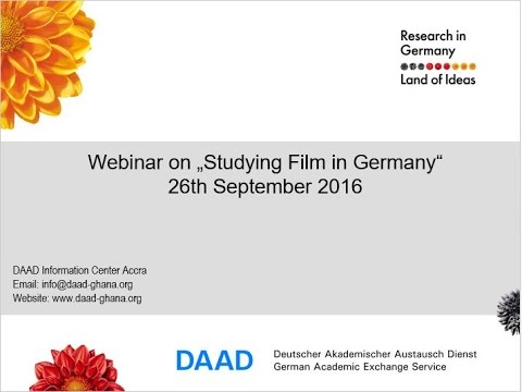 2016 09 26 16 06 Studying Film/Arts in Germany