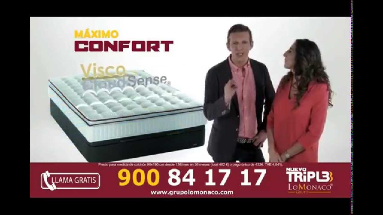Colchon Nuevo Triple Lomonaco Nuevo Spot Youtube