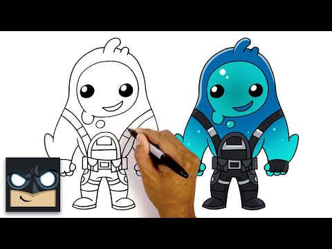 How To Draw RIPPLEY | NEW Fortnite Season 11 Skin