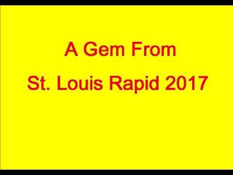 Fabiano Caruana vs Sergey Karjakin: St.Louis Rapid 2017